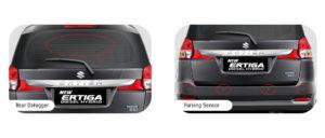 Fitur Exterior Suzuki Ertiga Diesel Hybrid