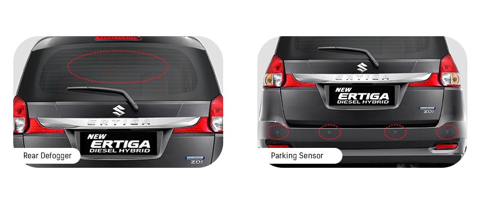 Fitur Eksterior Suzuki Ertiga Diesel Hybrid