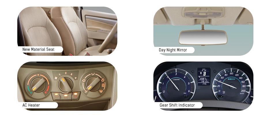 Fitur Interior Suzuki Ertiga Diesel Hybrid
