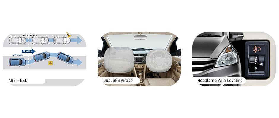 Fitur Safety Suzuki Ertiga Diesel Hybrid