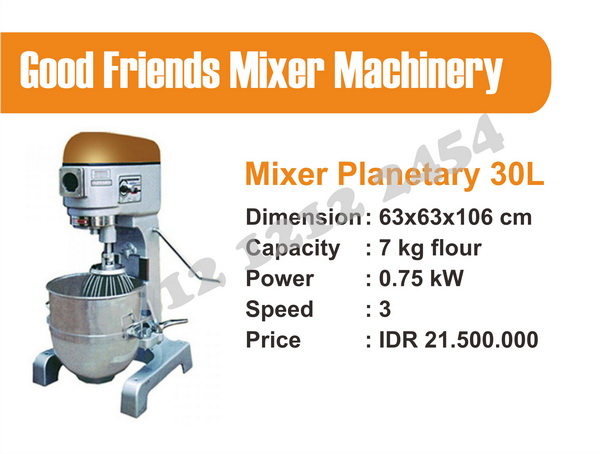 Harga Mixer Adonan 30 liter