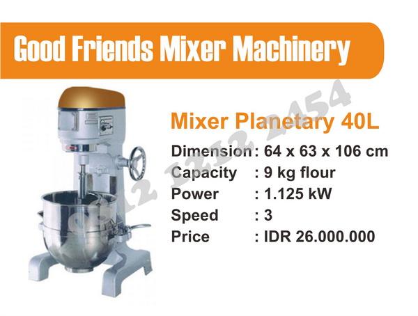 Harga Mixer Adonan 40 liter