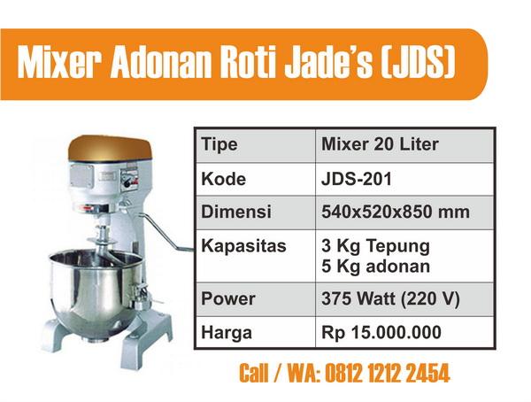 Mixer Adonan Roti 20 L
