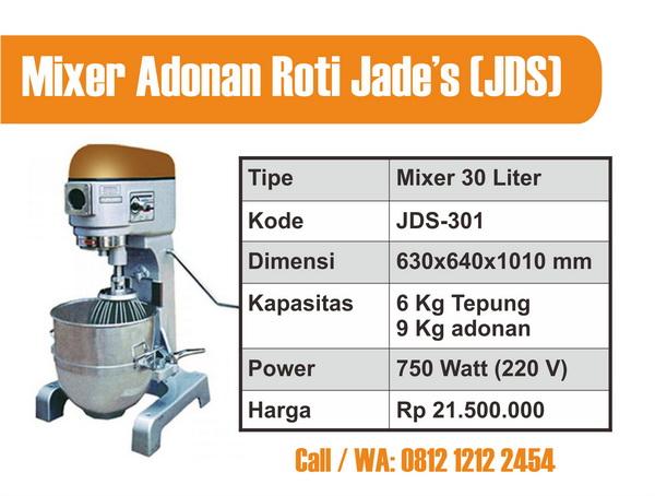Mixer Adonan Roti 30 L