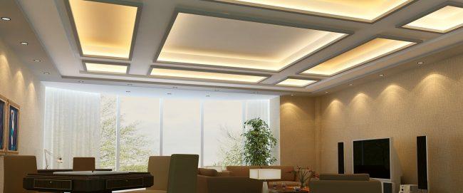 desain plafon gypsum Medan Garut jakarta bandung (4)