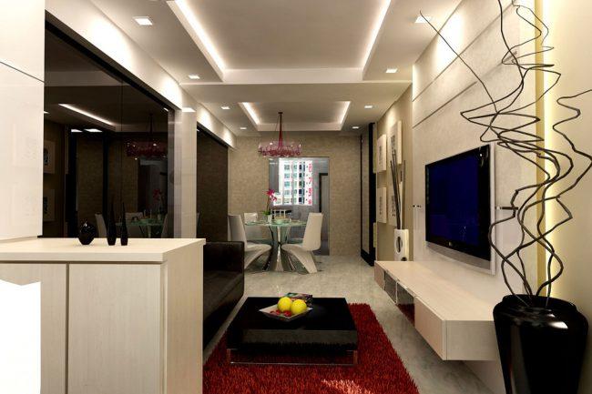 Desain Interior Plafon Gypsum Bandung
