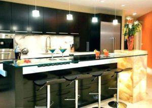 Kitchen set meja bar