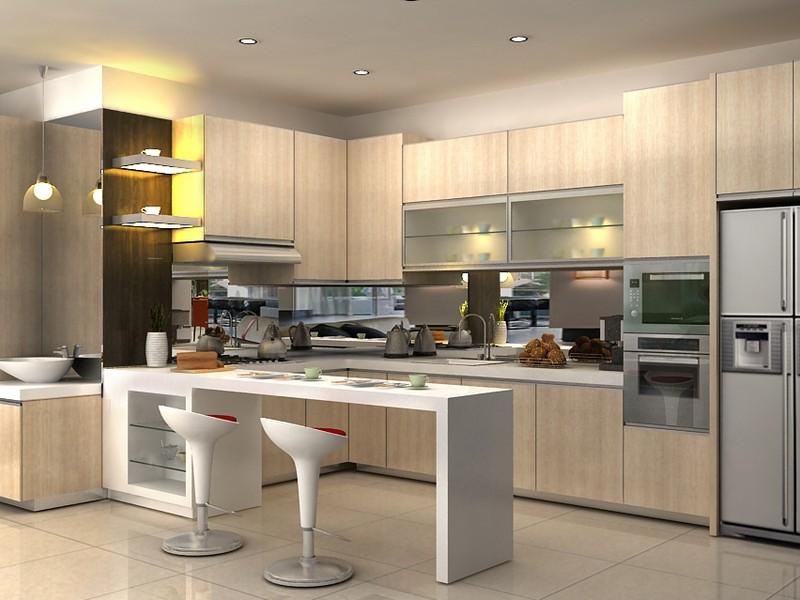 Kitchen set modern minimalis