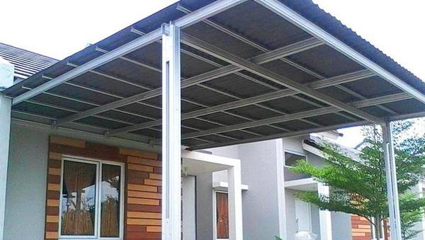 pasang kanopi baja ringan Bandung