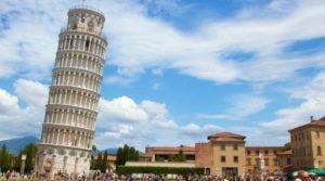 menara pisa itali