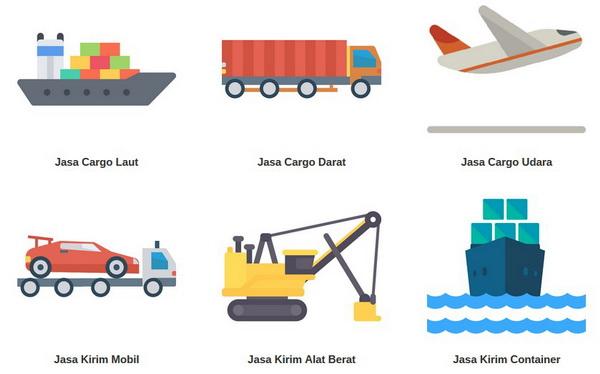 layanan cargo di bandung