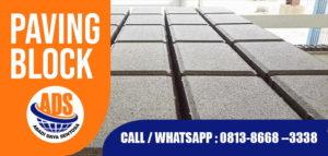 banner paving BLOCK SUBANG