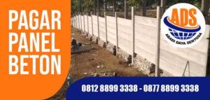 harga pagar panel beton Indramayu Bekasi Purwakarta Sukabumi bogor tangerang bandung jakarta