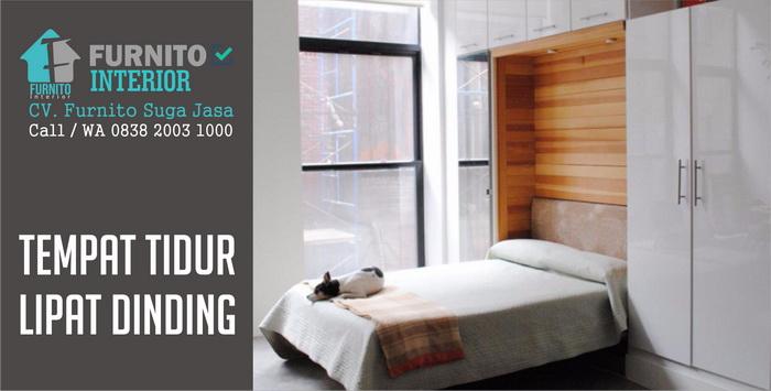 jasa pembuatan tempat tidur lipat dinding bandung