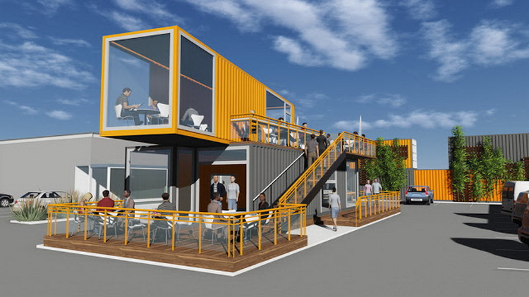 Harga jasa pembuatan Container Cafe Bandung
