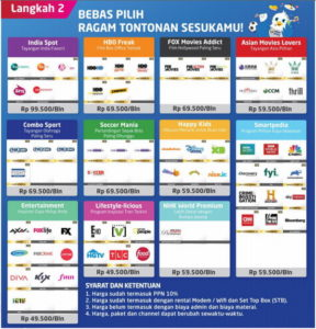 Paket MNC Play Bandung 2