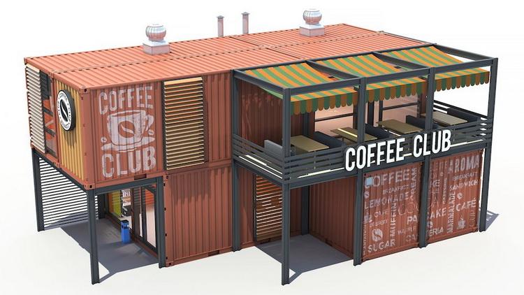 Contanier Cafe