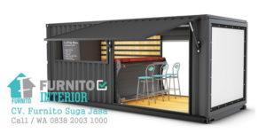 harga container cafe bandung