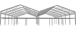 rancangan konstruksi baja bandung