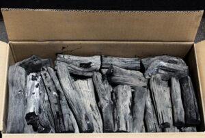 white charcoal indonesia