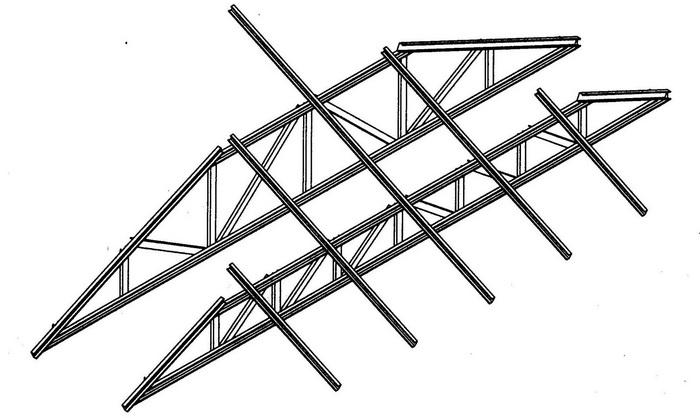 Rangka atap Baja Ringan1
