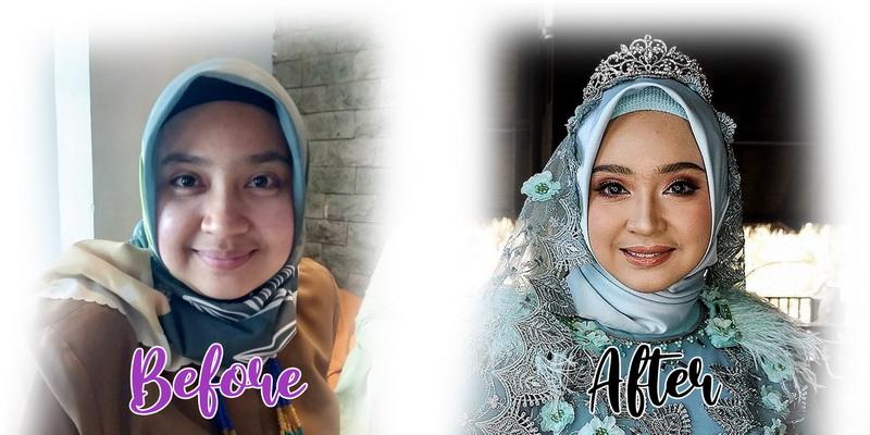 jasa rias pengantin hijab bandung
