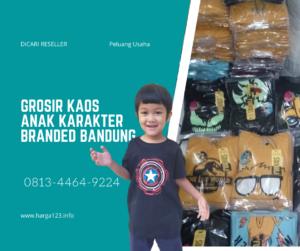Grosir Kaos Anak Karakter Bandung Premium Termurah