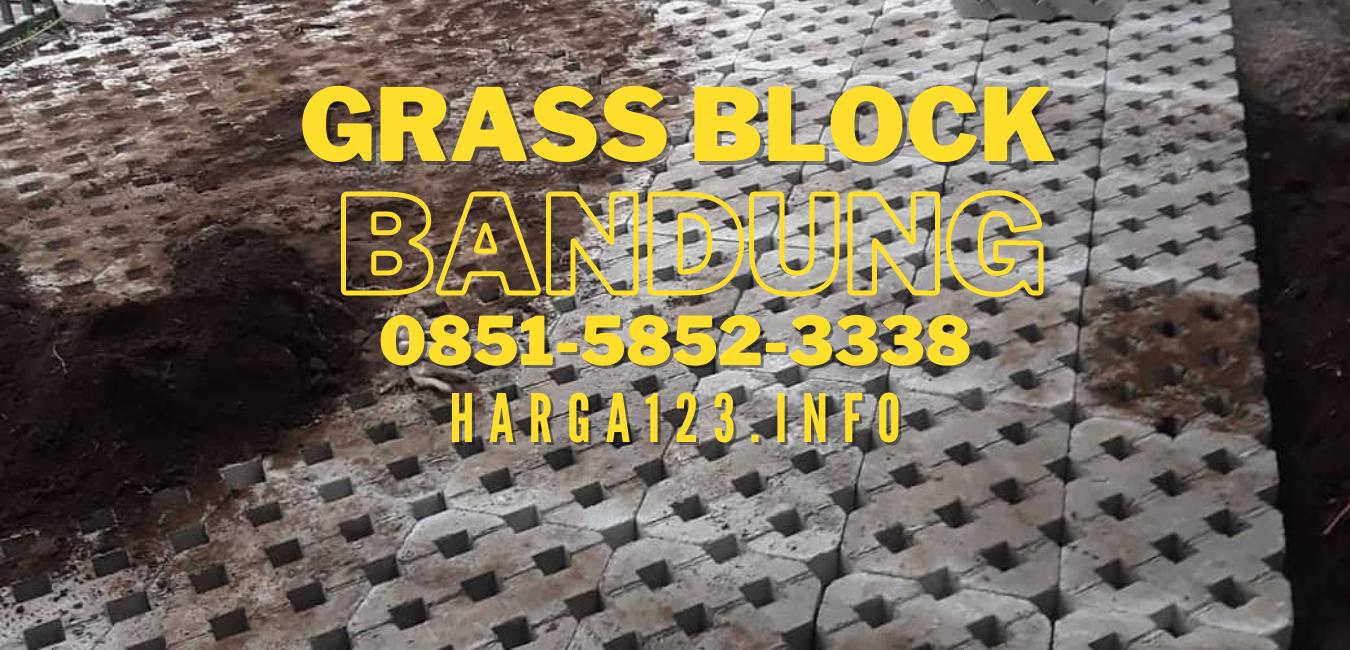 Grass Block Atau Dikenal Juga dengan Nama Paving Rumput Bandung