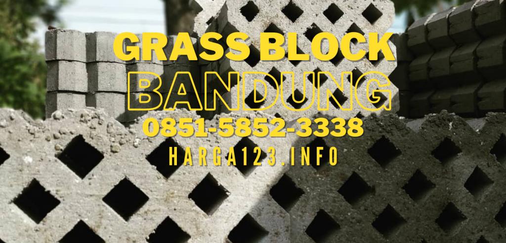 JUAL GRASS BLOCK Bandung