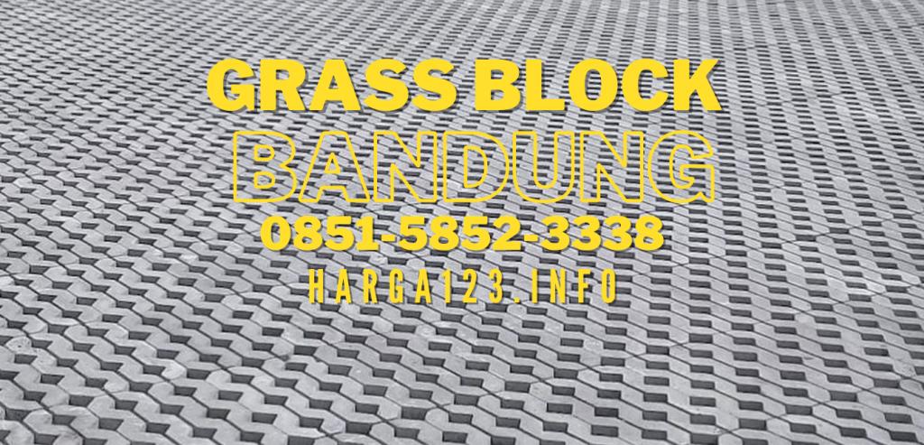 Produsen Dan Supplier GRASS BLOCK Bandung