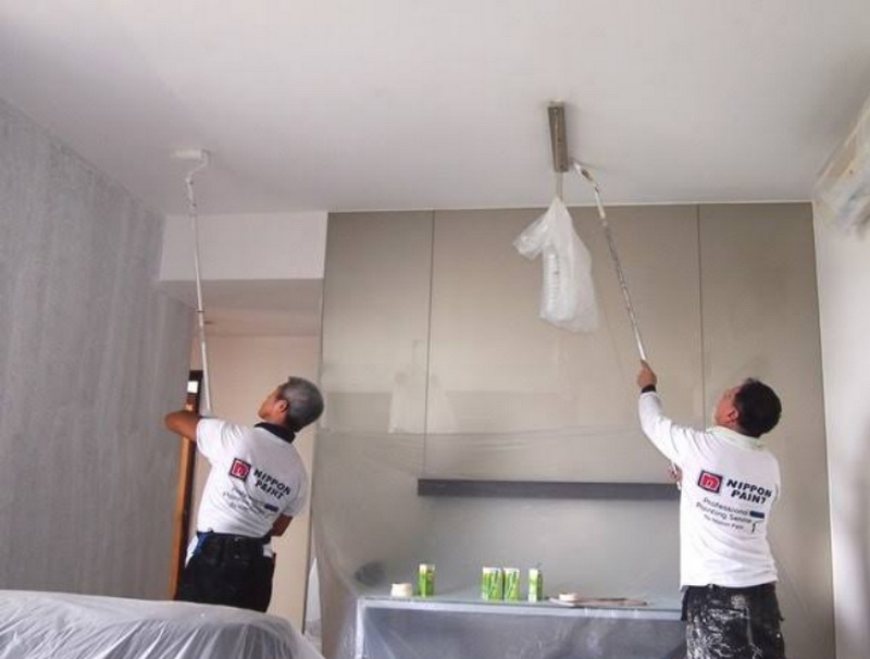 pengecatan plafon rumah